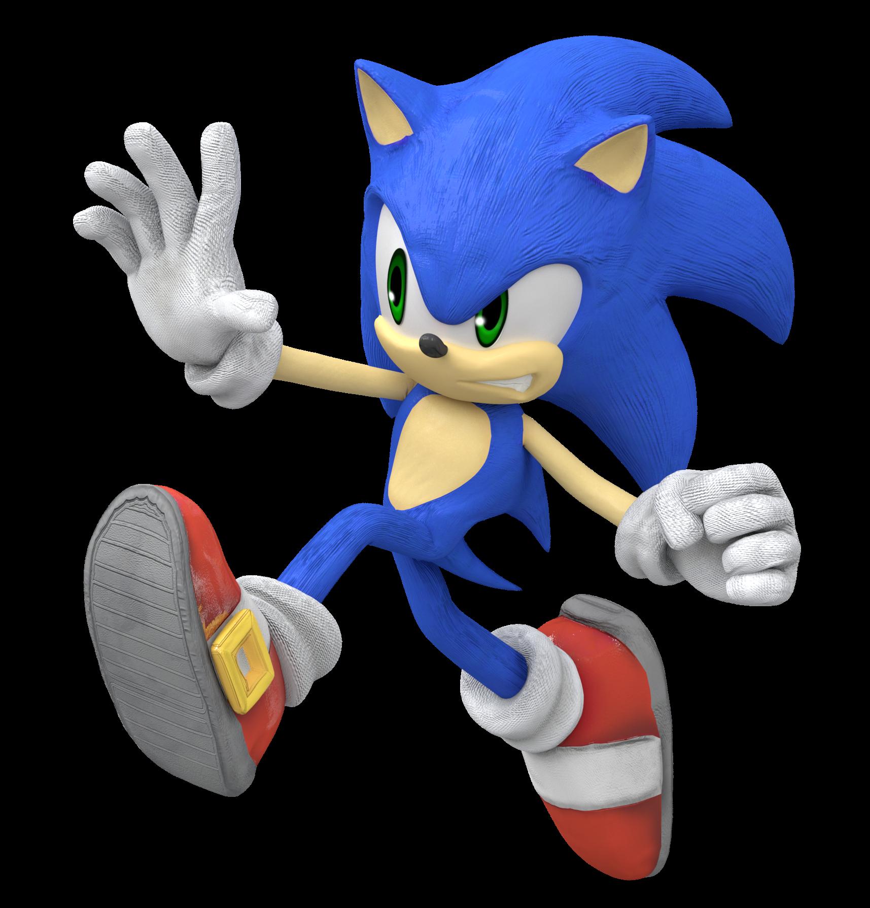Sonic Super Smash Bros Ultimate Fan Render By Nintega Dario