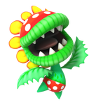 Petey Piranha Happy Render