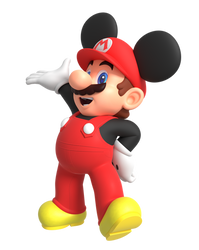 Mickey Mario Render