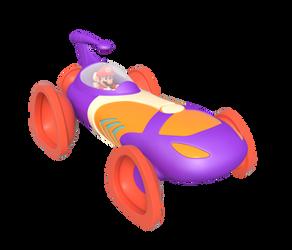 Mario Driving the Larry Mobile by Nintega-Dario