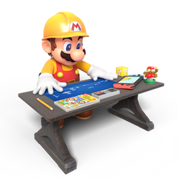 Super Mario Maker 2 BluePrints Render