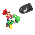 Yoshi LOOK OUT (Render)