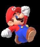 Mario Jump Render