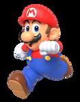 N64 Mario Running Render