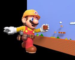 Super Mario Maker 2 - Building a Level Render by Nintega-Dario