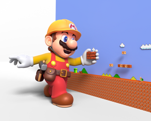 Super Mario Maker 2 - Building a Level Render