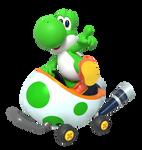 Yoshi Kart Tour Render