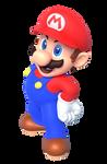 Super Mario 64 Promo Pose Remastered Render