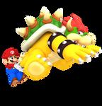 Mario VS Bowser Render (2017 Archive)