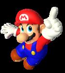 N64 Mario - Mario Party 6 Pose Render