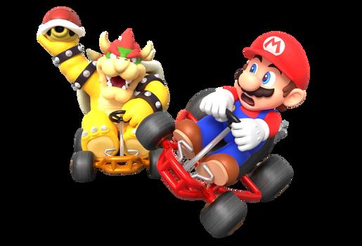 Super Mario Kart Battle Mode Render