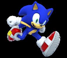 Modern Sonic Run Render