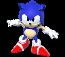 Sonic 3D Blast - Toei Pose Render