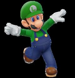 Luigi Mario 64 DS Pose Render