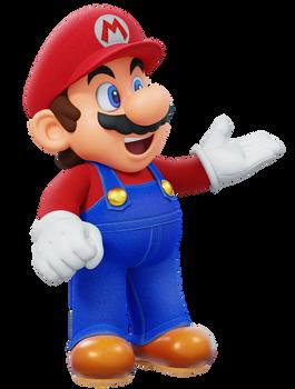 Super Mario All-Stars Render
