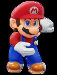 Mario Taking Bow Render