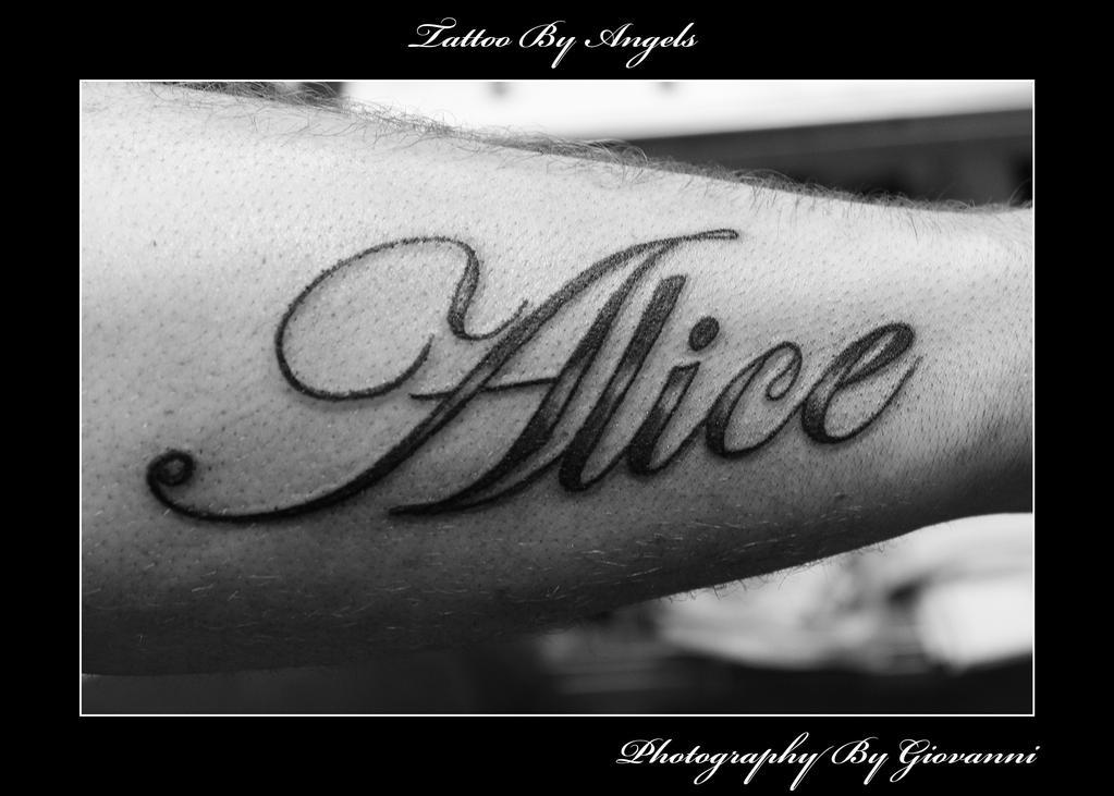 Good Tattoo Lettering Designs