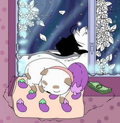 Sleepy Space Outlaw by Moenettewashere
