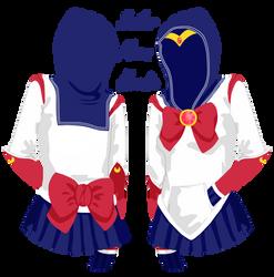 Sailor Moon Hoodie by Moenettewashere