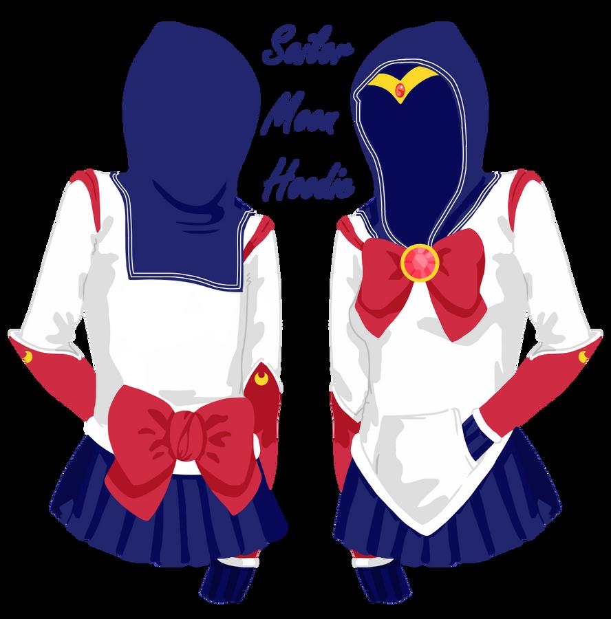 Sailor moon hoodie