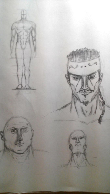 Study Application: Heads, Figure, Neck by Mannyhaatz