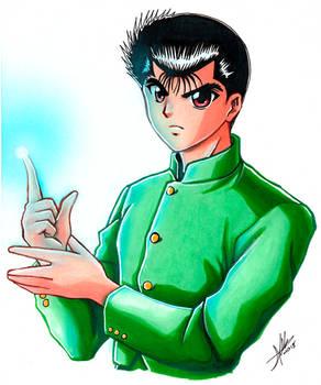 Yusuke Urameshi Fanart