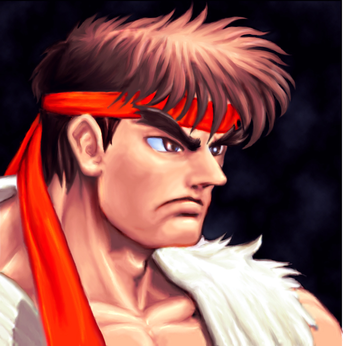 Ryu Fanart Street Fighter By Kawauti On Deviantart