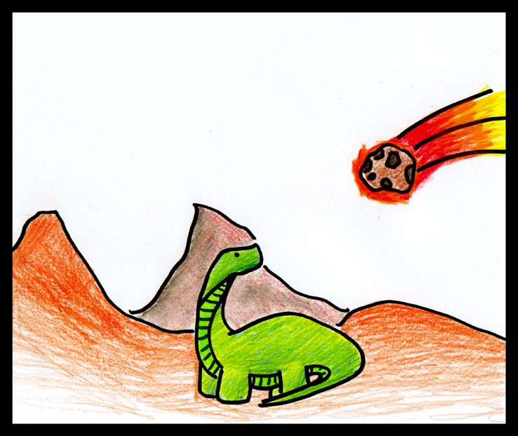 A Bad Day for Mr. Dinosaur. by Not-A-Prodigy