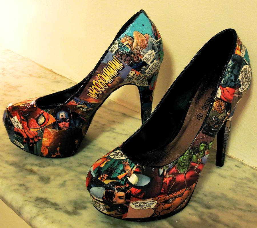 Comic Book Shoes â€