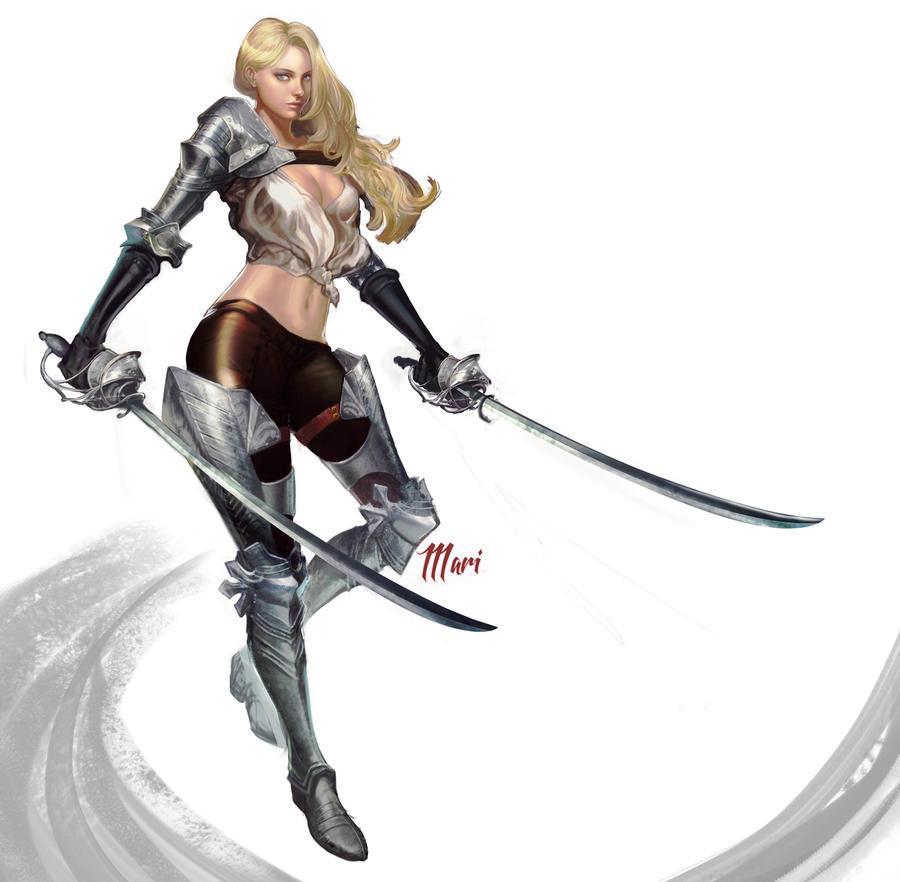 Dual Swords by IIIari
