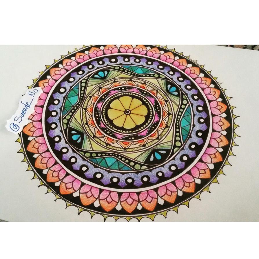 Colorful Mandala by mazdisna