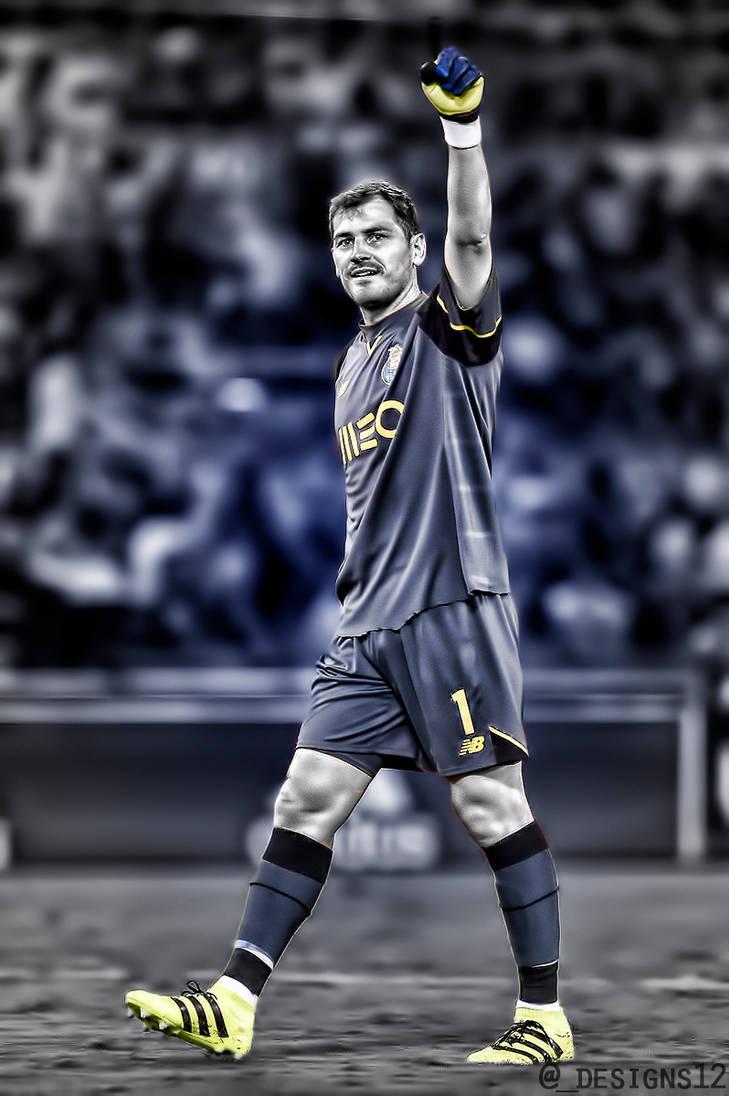 e50c04b67fd Iker Casillas-Legend!! by designs12 on DeviantArt