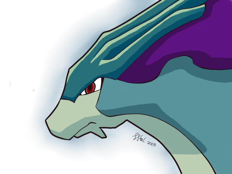 Suicune Fanart by Lmiris