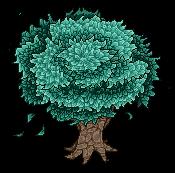 Pixel Art Tree by Lmiris