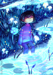Waterfall (SPEEDPAINT) by almostbread