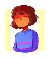 i love frisk by almostbread