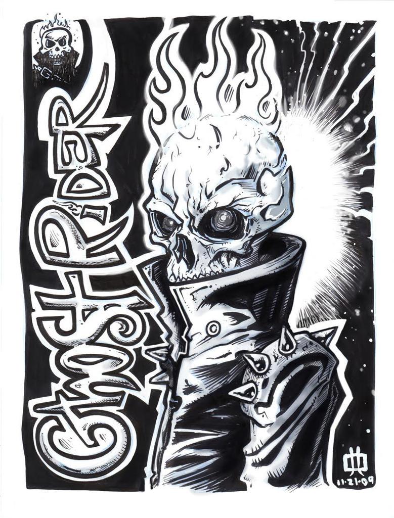Ghost Rider by Kamenliter