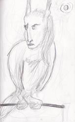 Harpy- Sketch by garboz