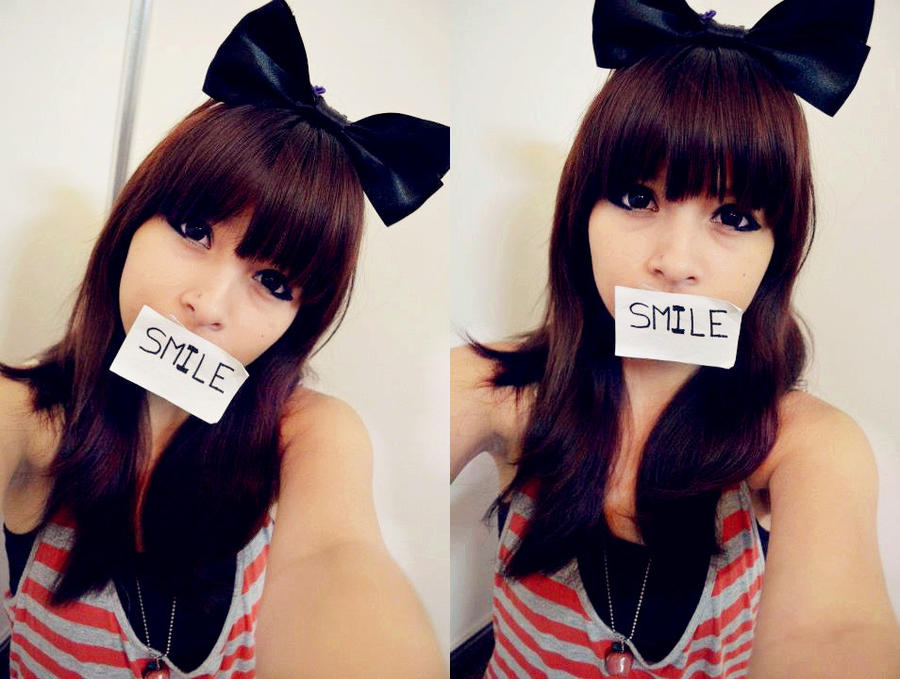 Ulzzang Red Hair latin ulzzang smile by