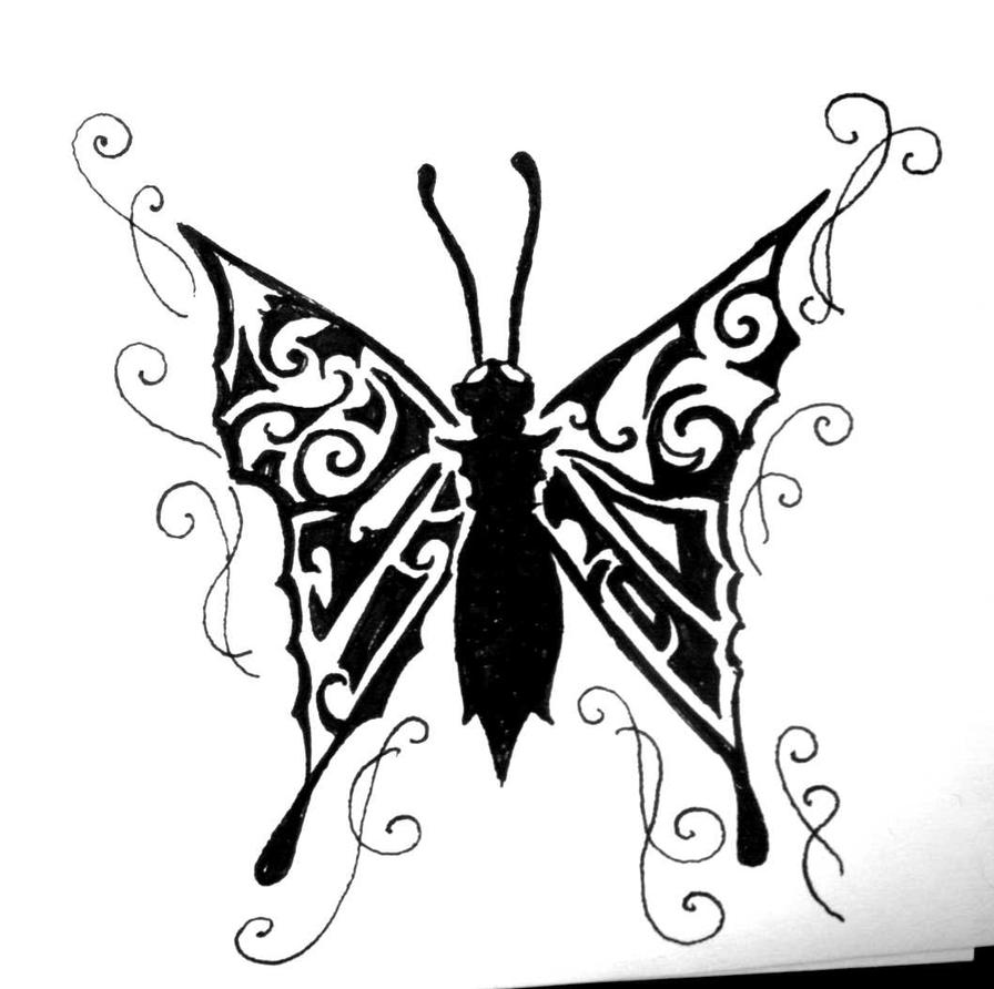 gothic butterfly by christymay26
