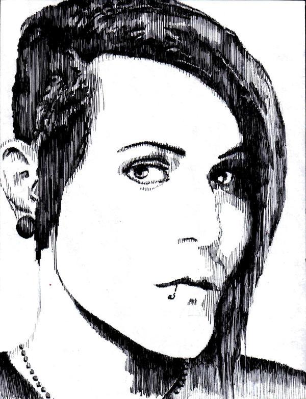 Vertical Line Art : Vertical line davey drawing by sadi g on deviantart