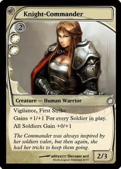 MTG Card - Knight commander