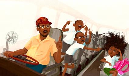bully boys  - Wanda on the bus