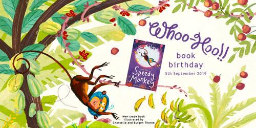 Speedy Monkey Hits the Shelves!