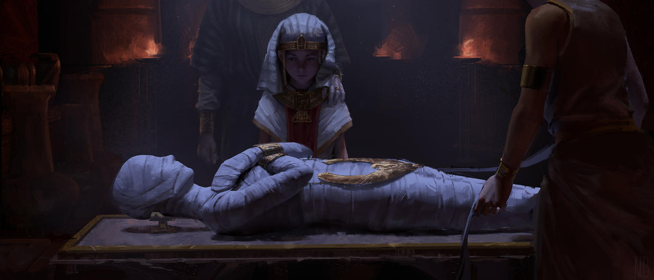 Mummy of pharaoh by MinhBui131