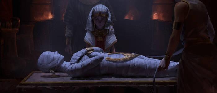 Mummy of pharaoh