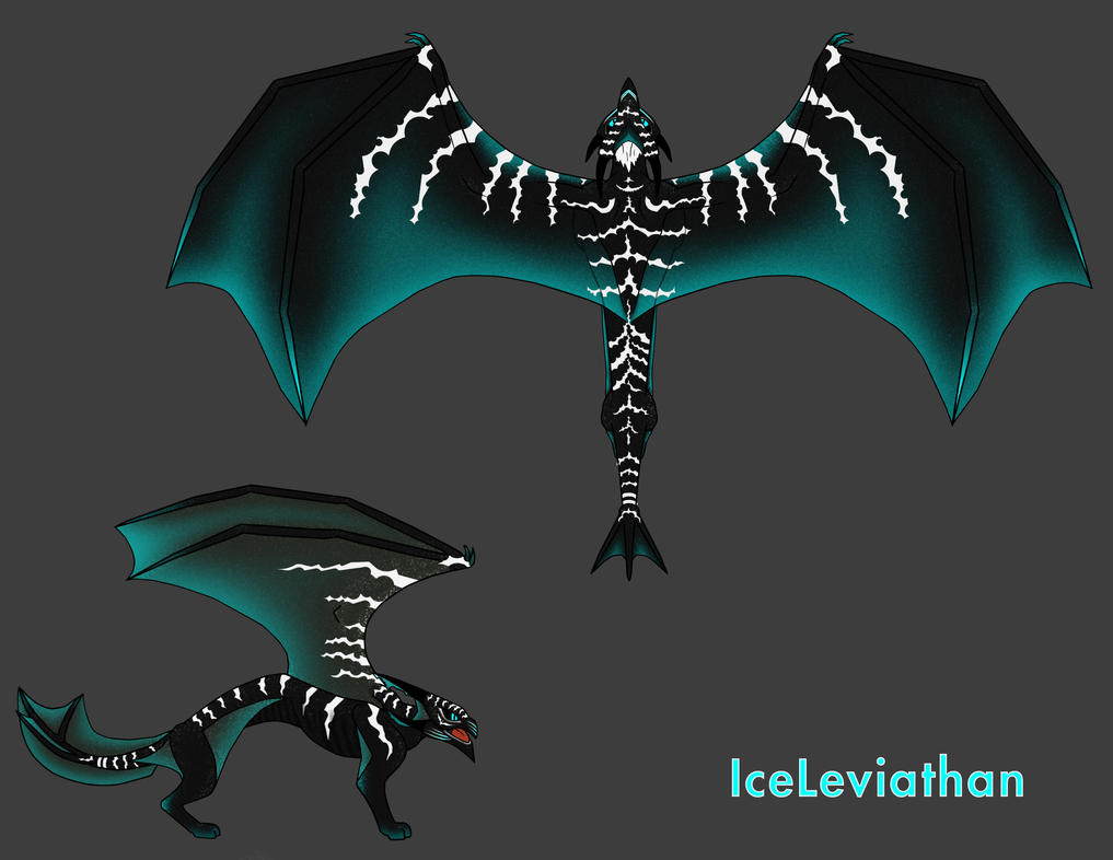 IceLeviathan Concept Art by Blackfirehawk