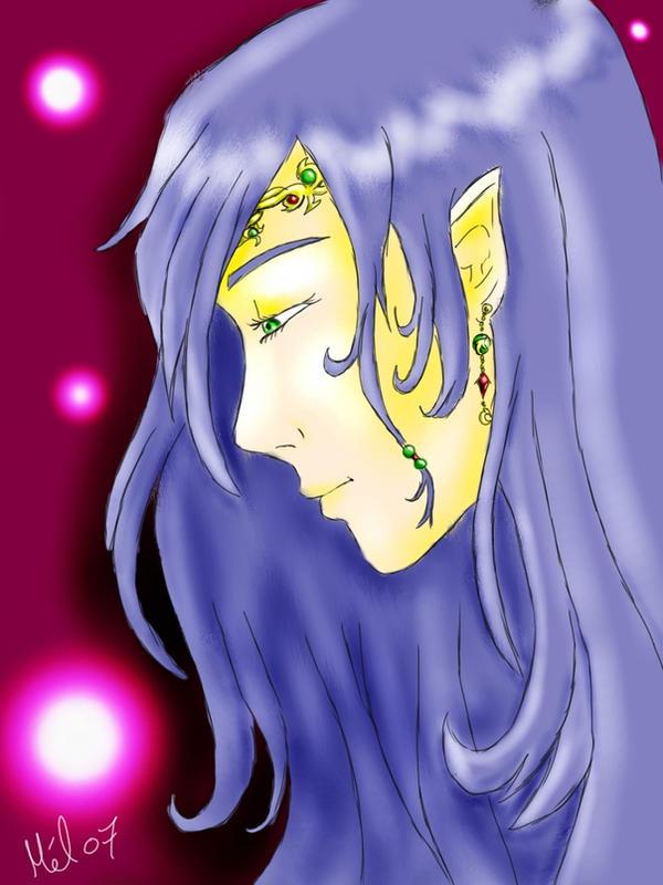 elf face by BlueMellie
