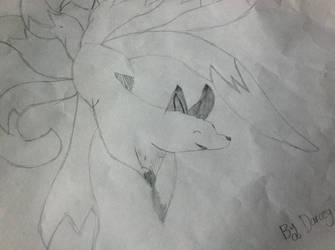 Nine-Tailed Fox by DarceyMew
