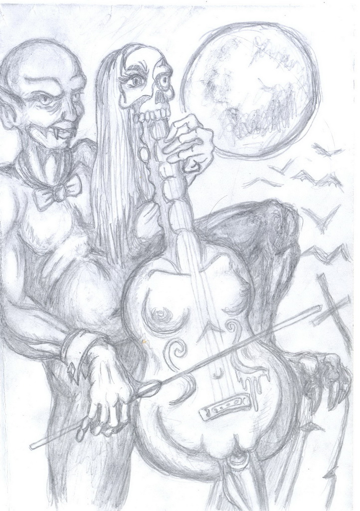 Hell Orchestra Sketch-2 by Murzik18